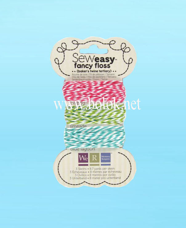 double color cotton twine